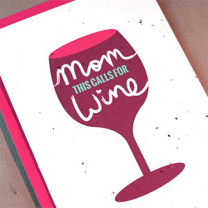 Eco-friendly Mother's Day Card offered by L'Autre Couleur