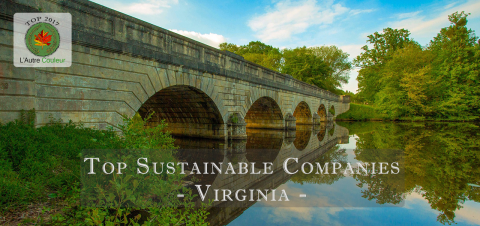 top sustainable companies in Virginia
