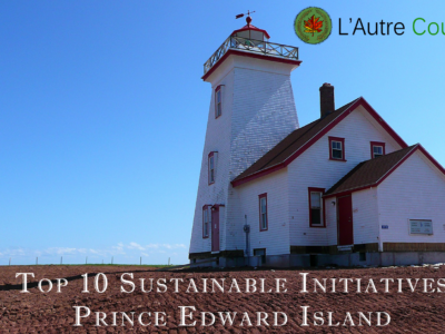 Top 10 Sustainable Initiatives in PEI