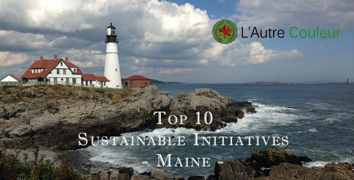 top 10 sustainable companies in maine