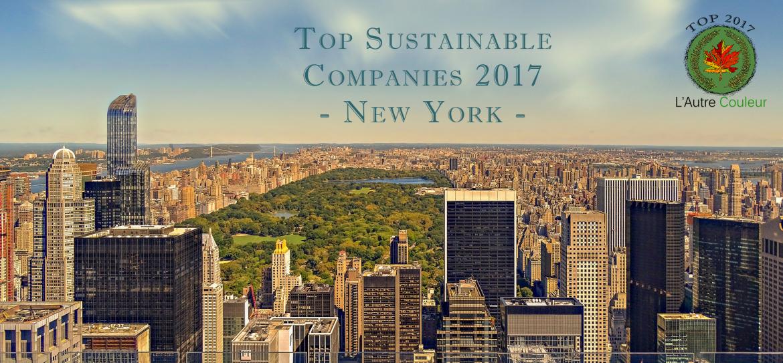 Top sustainable companies new york - l'autre couleur